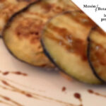Berenjenas fritas a la miel en Mesón Botafumeiro