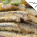 Boquerones fritos en Mesón Botafumeiro